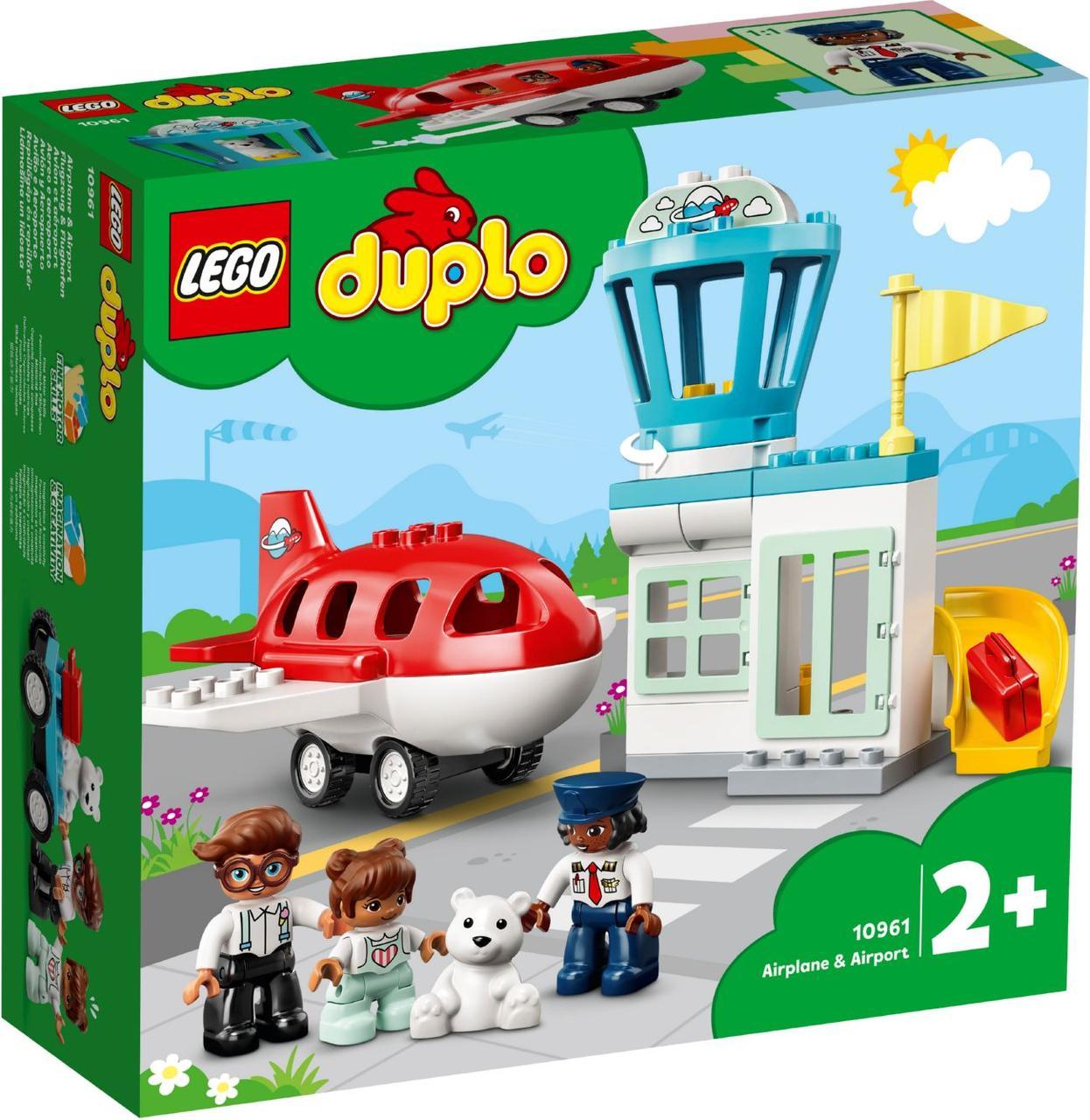 Lego Duplo Самолет и аэропорт 10961