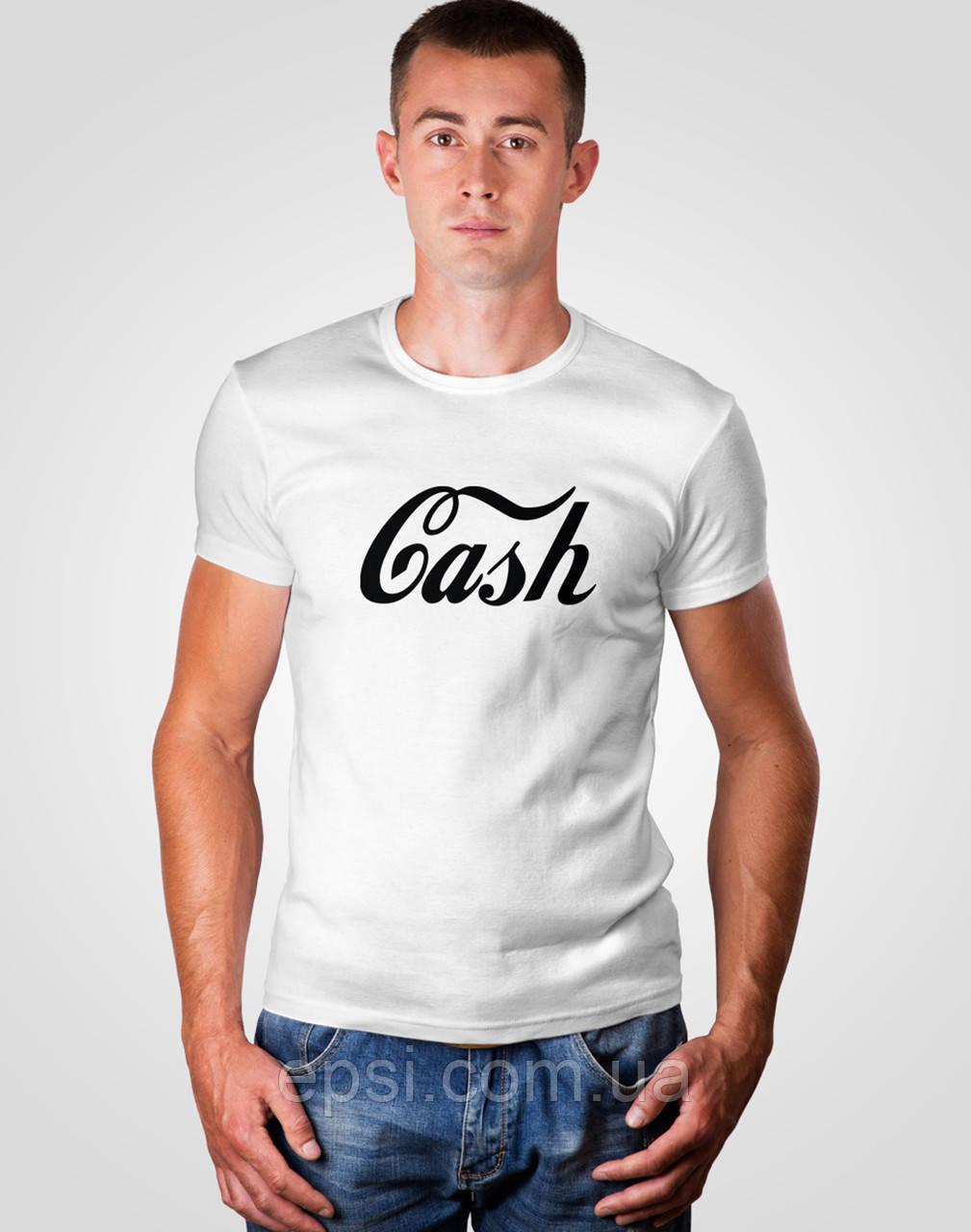 Футболка мужская с принтом Malta 18М063-17-П Cash1 M Белая (2901000191355)