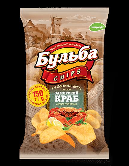 """Чіпси з натуральної картоплі """"Белпродукт"""" 150,г"""