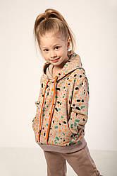 Джемпер Жираф з капюшоном дитячий ТМ Модный карапуз