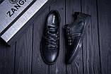 Мужские кожаные кеды ZG Aircross  Black, фото 10
