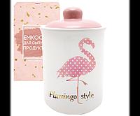 Емкость для сыпучих продуктов S&T Фламинго 700мл