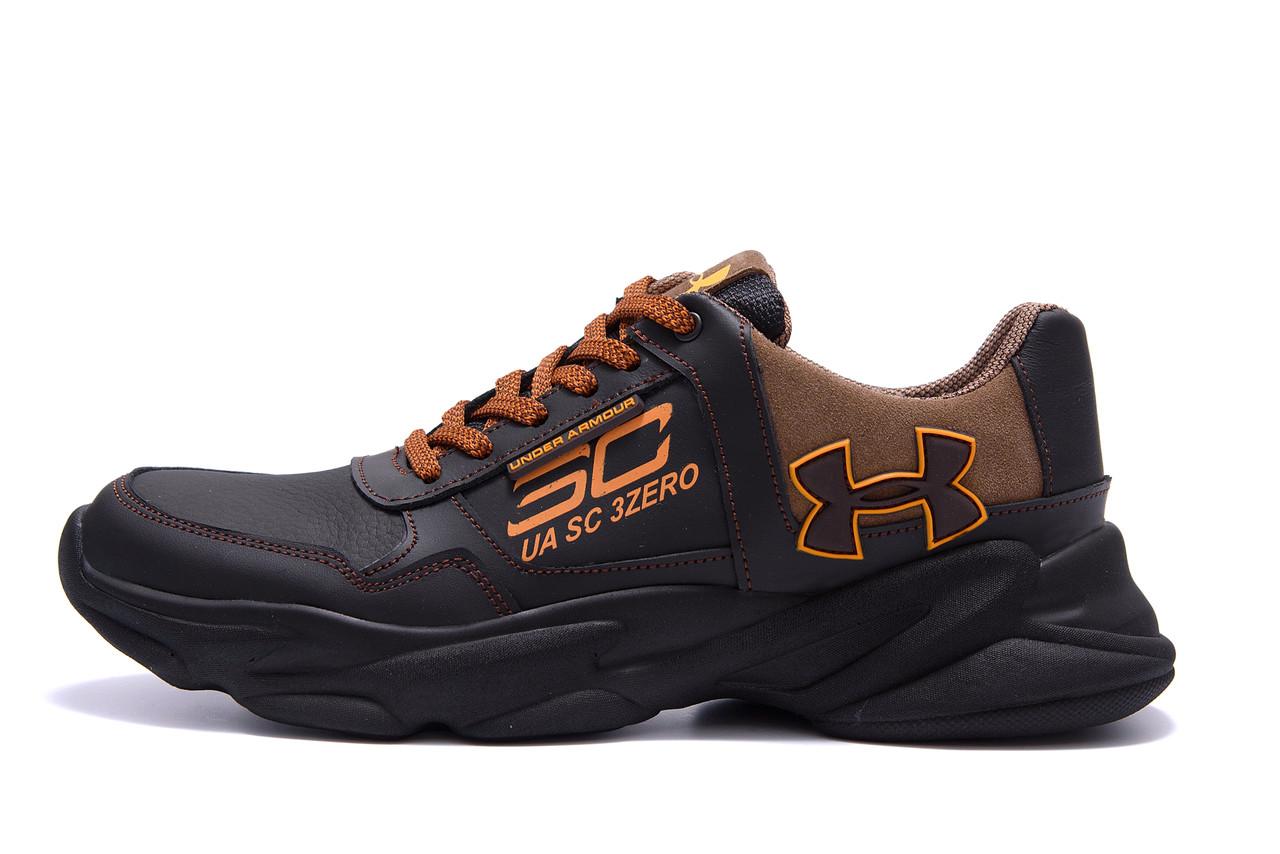 Мужские кожаные кроссовки  Under Armour UA SC 3 Zero .