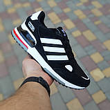 Мужские кроссовки Adidas zx 750 черные, фото 2