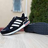 Мужские кроссовки Adidas zx 750 черные, фото 8