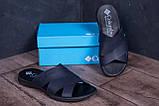 Чоловічі шкіряні літні шльопанці-сланці Columbia Blue ., фото 7