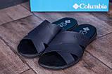 Чоловічі шкіряні літні шльопанці-сланці Columbia Blue ., фото 8
