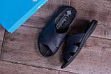 Чоловічі шкіряні літні шльопанці-сланці Columbia Blue ., фото 10