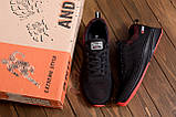 Чоловічі кросівки літні сітка BS RUNNING SYSTEM Black, фото 10