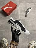Жіночі кросівки Puma Suede Black White, фото 3