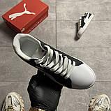 Жіночі кросівки Puma Suede Black White, фото 4