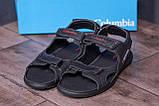 Чоловічі шкіряні сандалі Columbia Track Black (;), фото 8