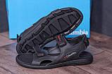 Чоловічі шкіряні сандалі Columbia Track Black (;), фото 9