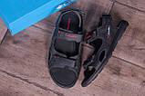 Чоловічі шкіряні сандалі Columbia Track Black (;), фото 10