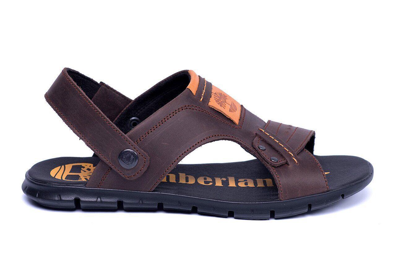 Чоловічі шкіряні сандалі Timberland .