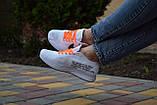 Жіночі кросівки Nike FLYKNIT RACER FOAM x Off White білі, фото 4