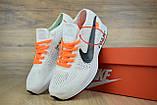 Жіночі кросівки Nike FLYKNIT RACER FOAM x Off White білі, фото 5