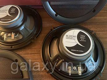 Автомобильные динамики 16 см 2 шт. XS-GTF1627 коаксиальная акустика круглые колонки 6 дюймов