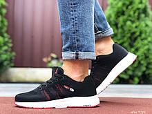 Мужские кроссовки Adidas Neo черно белые, красные