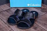 Мужские кожаные  летние шлепанцы-сланцы  Columbia, фото 7