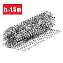 """Сітка """"Рабиця"""" оцинкована 50х50х1,5 мм (h=1,2 l=10м)"""