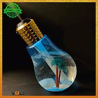 Увлажнитель воздуха ночник в форме лампочки Buld Humidifer Pro