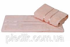 Полотенце махровое 50х90 Hobby DOLCE пл.560 г/м2 Персиковый