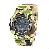 Часы Casio G-Shock GA-100B Militari Brown  G-Shock