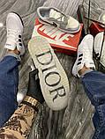 Чоловічі кросівки Nike Air Jordan 1 Retro x Dior., фото 7
