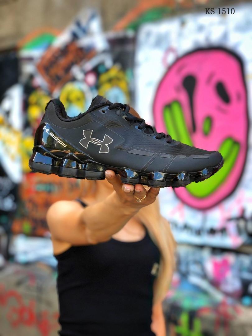 Чоловічі кросівки Under Armour Scorpio (чорні)