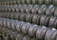 Рабица стальная оцинкованная (компактный рулон) Ф 1,7 - 55 мм х 55 мм - 1,2х10 м