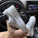Женские кроссовки Nike Air Force 1 Low White REFLECTIVE., фото 3