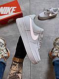 Женские кроссовки Nike Air Force 1 Low White REFLECTIVE., фото 5