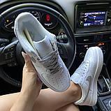 Женские кроссовки Nike Air Force 1 Low White REFLECTIVE., фото 7