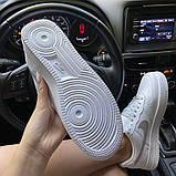 Женские кроссовки Nike Air Force 1 Low White REFLECTIVE., фото 8