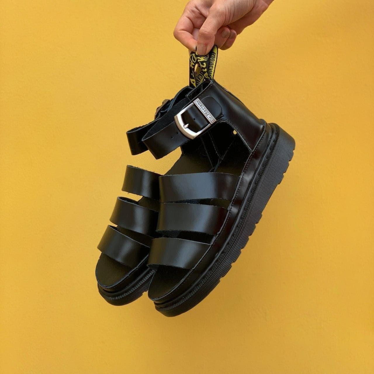 Жіночі Босоніжки Dr Martens Sandals Black