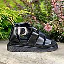 Жіночі Босоніжки Dr Martens Sandals Black, фото 4