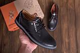 Чоловічі шкіряні туфлі Tommy HF, фото 7