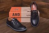 Чоловічі шкіряні туфлі Tommy HF, фото 10