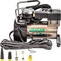 Автомобильный компрессор URAGAN 90110 35л/мин 7атм Ураган автомобільний компресор для подкачки шин Гарантия
