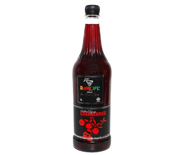 Сироп Barlife (Барлайф) Клюква 1 л (Syrup Barlife Cranberry 1 L)