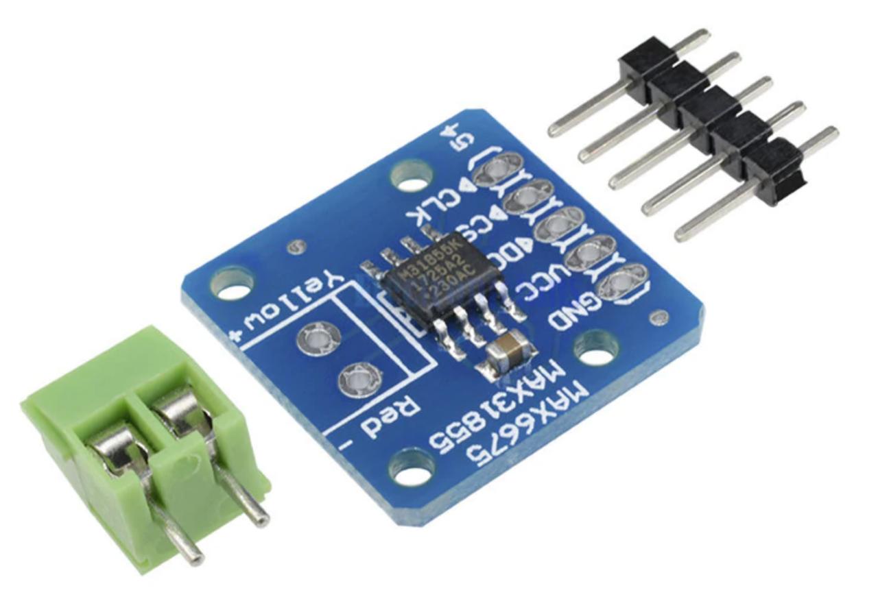 MAX31855 датчик до-термопари з компенсацією температури холодного спаю, термометр, датчик температури