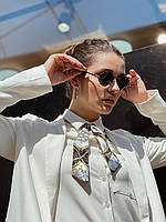 Солнцезащитные очки Chrome Hearts ромбовидной формы