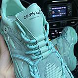 Женские  летние кроссовки CALVIN KLEIN Strike 205 Mint Turquoise, фото 8