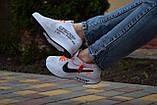 Женские кроссовки  NIKE FLYKNIT RACER FOAM x Off White белые, фото 7