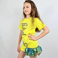 Детское летнее платье трикотаж тм Miss Feriha размер 116,122,128 см