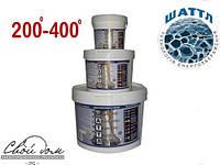 Термокраска изоляционная ШАТТЛ ТЕРМО для дымоходов, котелен, промышленности. до 400 оС, 1л