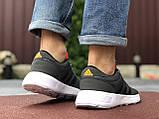 Чоловічі кросівки Adidas сірі, фото 4