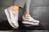 Жіночі кросівки шкіряні весна/осінь рожеві-сірі CrosSAV 50, фото 7