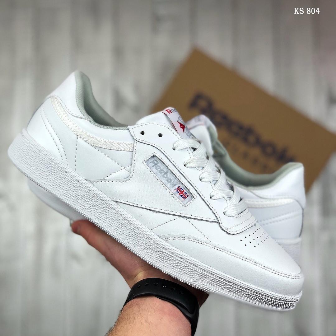 Мужские кроссовки Reebok Club C (белые)